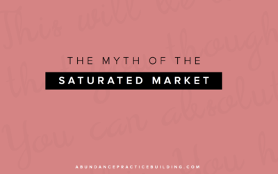 The Myth of the Saturated Market