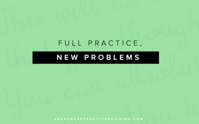 Full Practice, New Problems