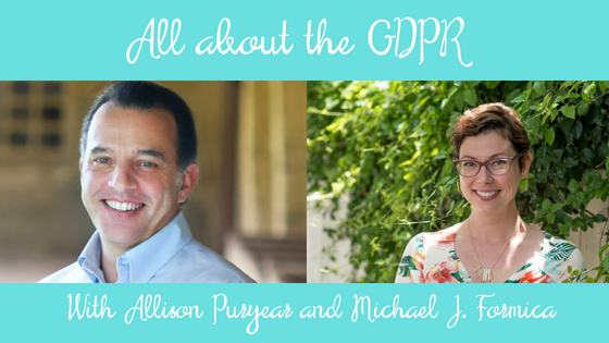 All About GDPR Michael J. Formica
