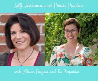 Self-Disclosure in Private Practice