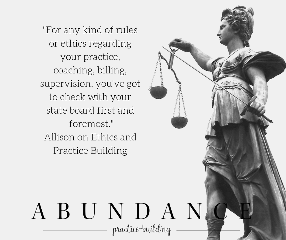 Ethics Around Supervision Fee Setting and Raising Rates