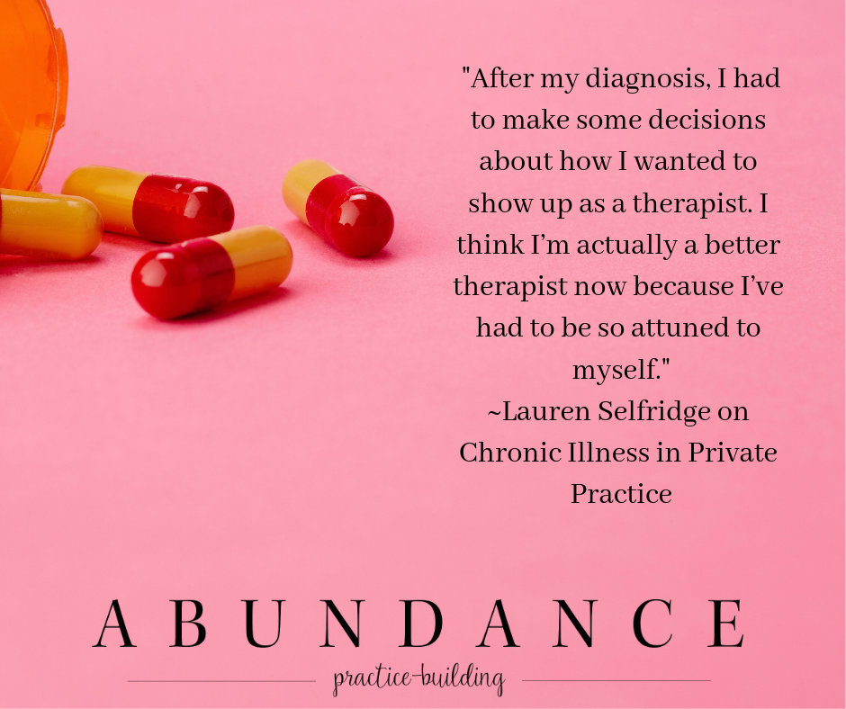 Chronic Illness In Private Practice