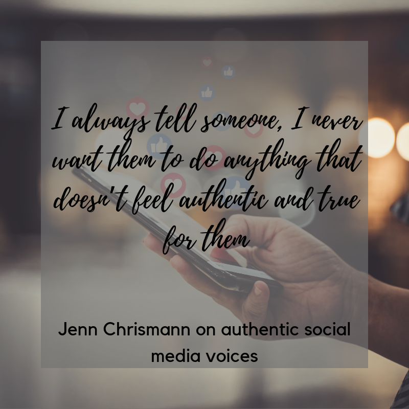 Effective Social Media Marketing Jenn Chrisman