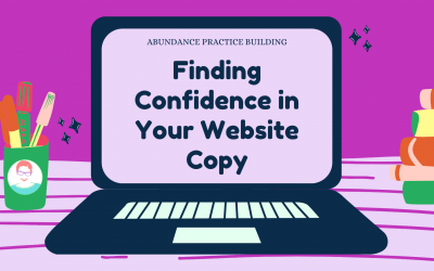 Finding Confidence in Your Website Copy
