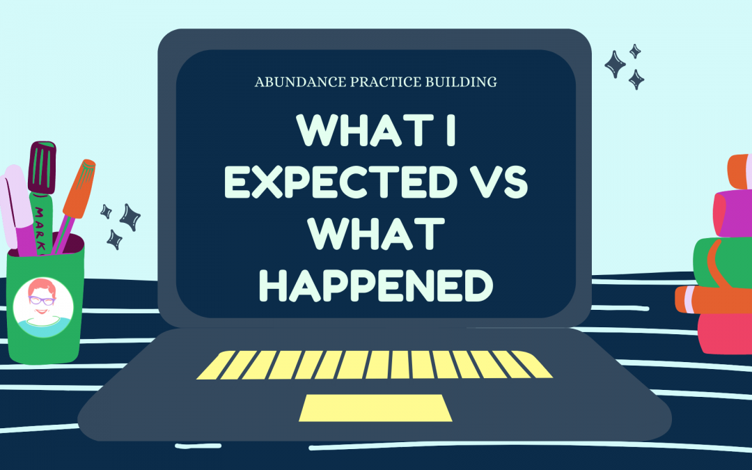 What I Expected vs What Happened: a Guest Post from Lindsay Melka