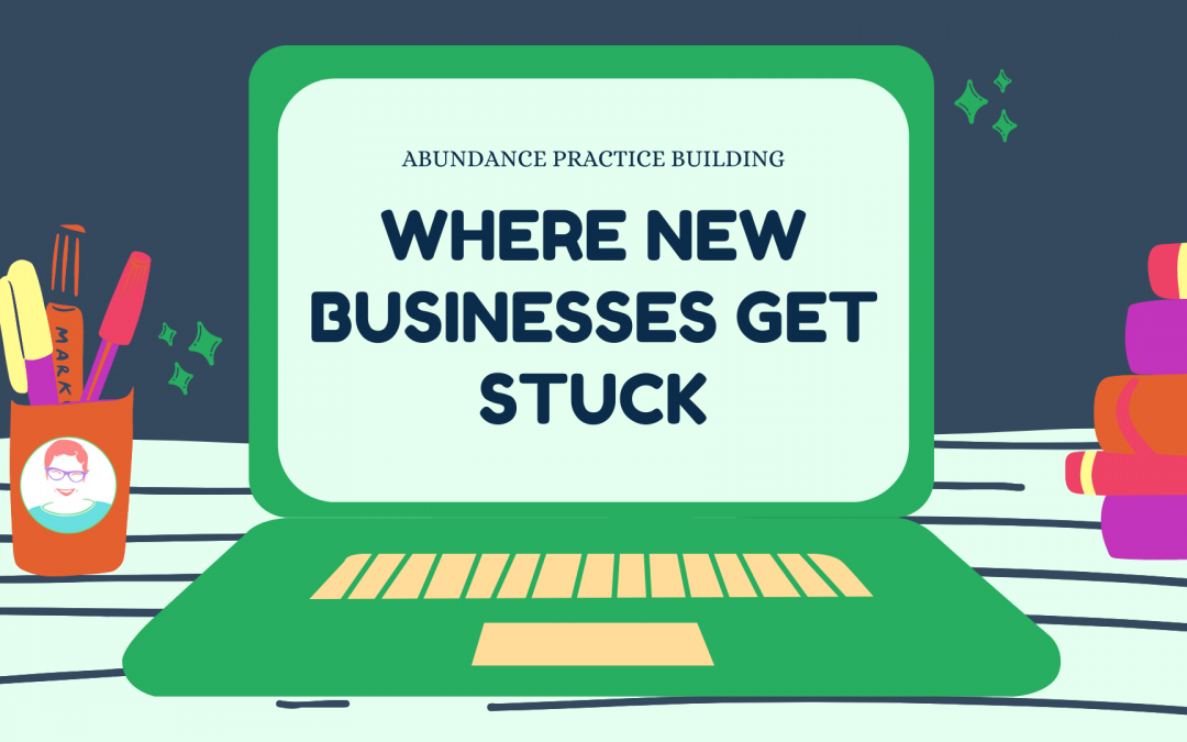 Where New Businesses Get Stuck
