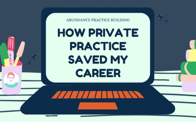 Guest Post: From Agency to Private Practice – How Private Practice Saved My Career