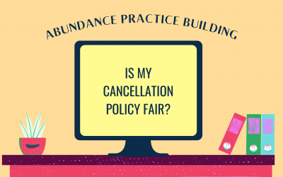 Is My Cancellation Policy Fair?