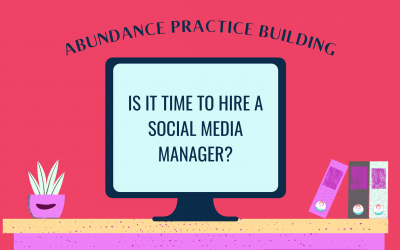 Is it Time to Hire a Social Media Manager?